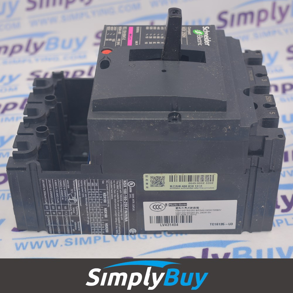electrical breakers NSX MCCB NSX100H LV429004 circuit breaker Compact NSX 3P