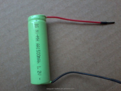 High Power Battery 1.2V AA nimh 1500mah rechargeable battery