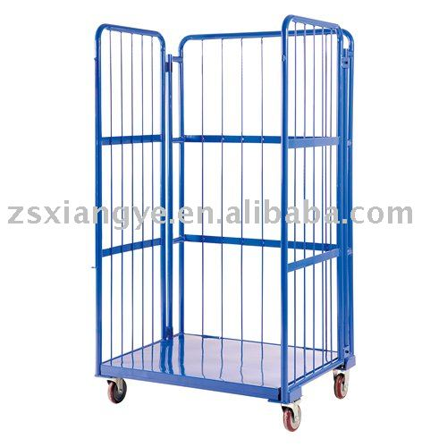 Roll cage cart