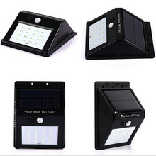 motion sensor Lights solar led outdoor wall light, solar led wall light