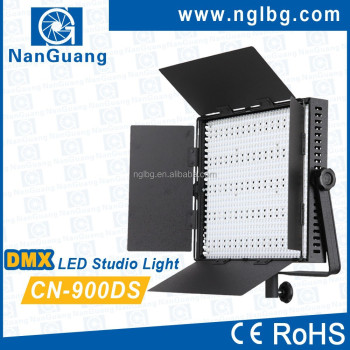 Nanguang 54W CN-900DS DMX studio LED Light with professional LCD Screen for studio Ra 95