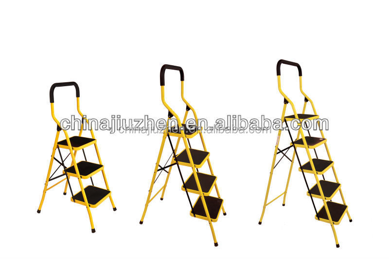 high handrail steel ladder round tube material professional manufacturer