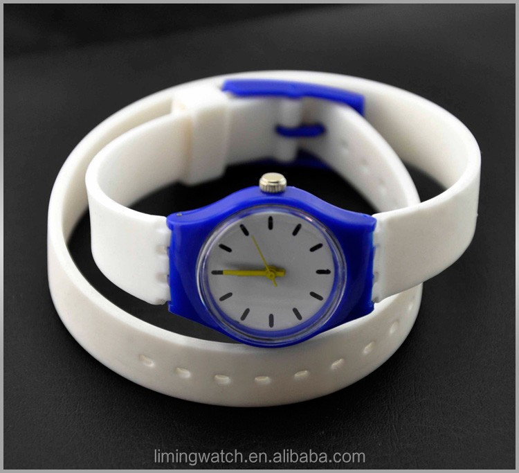 Promotional Design Plastic christmas promotion gift wristwatch