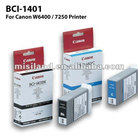 canon BCI-1401 100% original inkjet printer cartridges suitable for Canon W6400/7250 printer