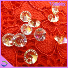 rondelle crystal glass beads stone beads for lamp curtain