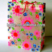 Fashion folding package chirstmas gift bags