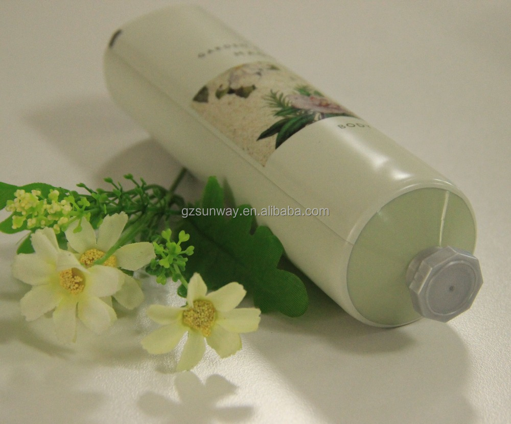Flexible Tube for cosmetic packaging like Body lotion tube