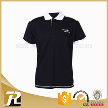 2017 new design bresthable soft custom logo pique men polo shirt