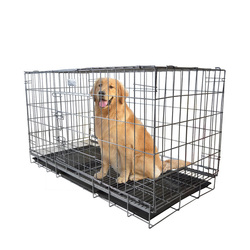anti rust folding wire animal cage dog crates for small dogs
