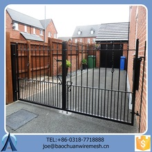 Used Antique Good-looking Double Opening Gate/Iron Gate/Steel Gate For Home Garden