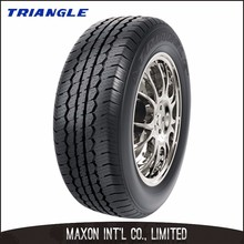 Chinese manufacturer low rolling noise good high-speed and braking performance Triangle PCR car tire