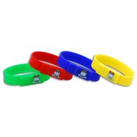 OEM bracelet usb flash drive, rubber wristband usb flash memory stick