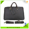 New design cow leather fancy travel bag for men business trip