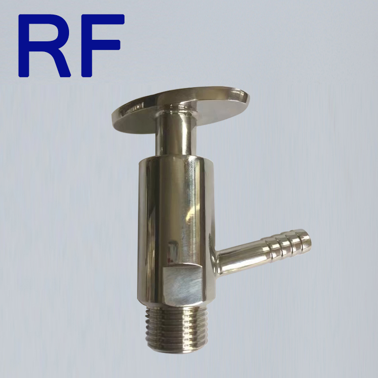 RF Sanitary Stainless Steel Price List Clamped Sample Valve