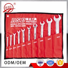 6mm-32mm Double Open End Combination Spanner Wrench Set