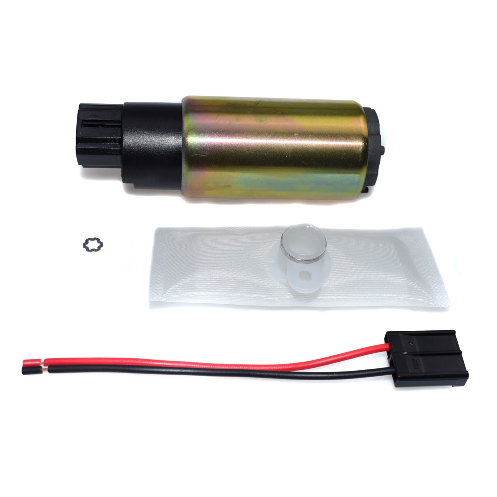 Set 255LPH Intank Fuel Pump Kit with Strainer <strong>Filter</strong> HFP382 GSS342 For Nissan <strong>Honda</strong> Subaru Mitsubishi