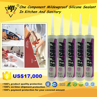 One Component Mildewproof Silicone Sealant In Kitchen And Sanitary