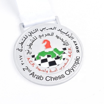 Design your own sport running finisher Zinc alloy medal with lanyard