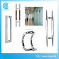 good quality shower room stainless steel glass door handle
