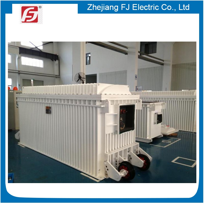 Large Capacity Oil Cooled explosion-proof transformer suitable for mines