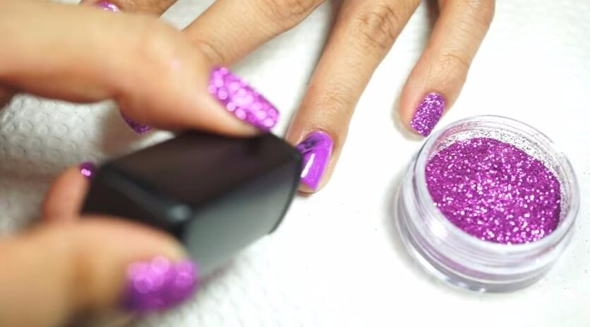 mirror nail glitter powder
