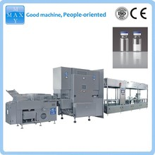 glass vial filling and sealing machine