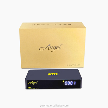Wholesale price V8 angel dvb t2 s2 android 4.4 HD STB Digital satellite receiver mpeg4 Amlogic S805 1GBRAM +8GBROM