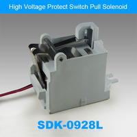 High Voltage Protect Switch Linear Pull Solenoid SDK-0928L