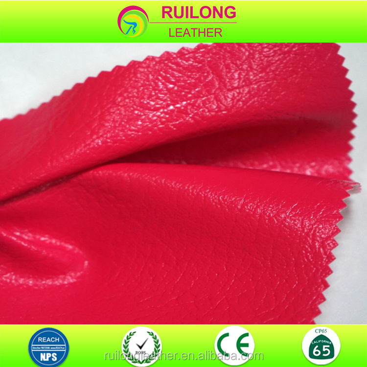 Various color fashional synthetic artificial pvc leather for gift boxes shoes
