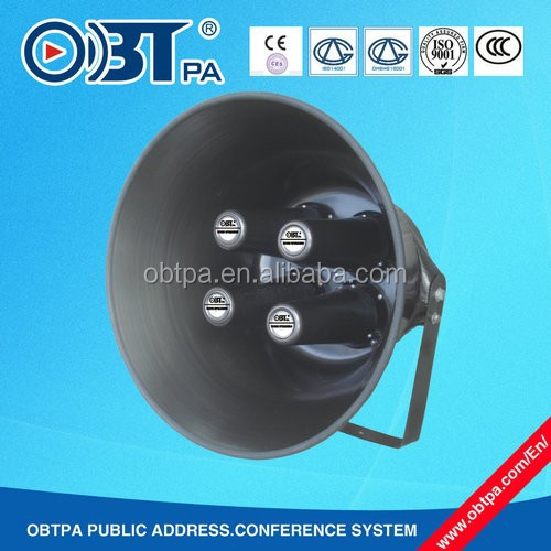 OBT- 319 4 unit /140W high power /big horn loudspeaker for public address system