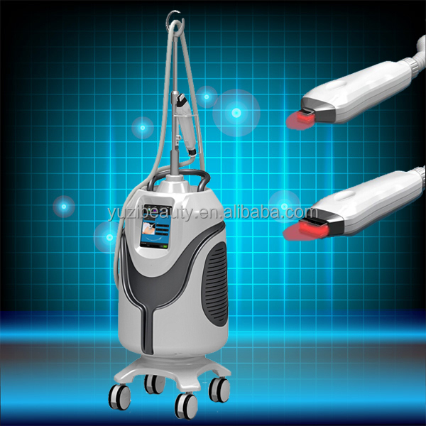 Cryo skin cooling system RF frequency conversion&650nm lipolaser&Skin cold system
