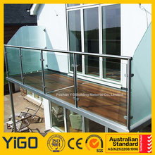 Top Manufacturer of galvanized steel pipe balcony railing with high quality
