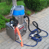 CE internal and external 2 guns no boiler 10 bar electric mobile steam used hot water pressure washers for sale