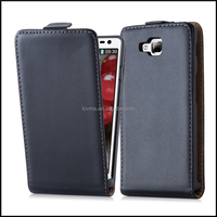 Magnetic Genuine Real Flip Leather Case Wallet Cover for LG Optimus L9 II D605