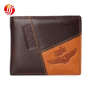 Personality Vintage Short Casual Business Classic Coin Creative Men Wallets Leather