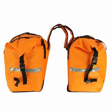 Waterproof bags specialize for autobike with Roll Top Closure