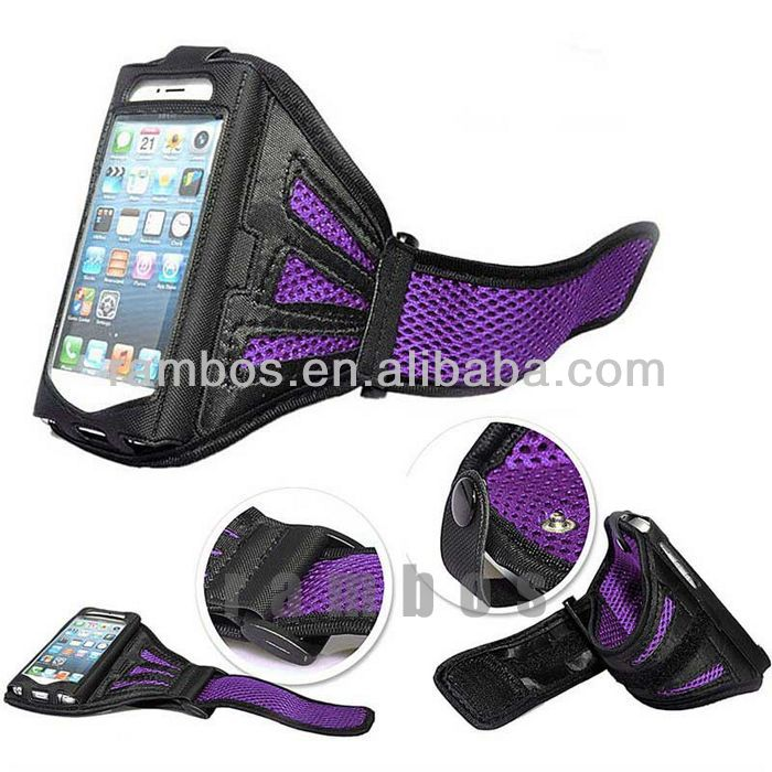Ventilated Sport Armband Children Jogging Phone Case for iPhone 4 4s