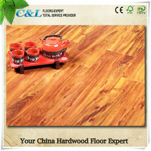 C&L smooth crystal surface 8mm laminate wood flooring