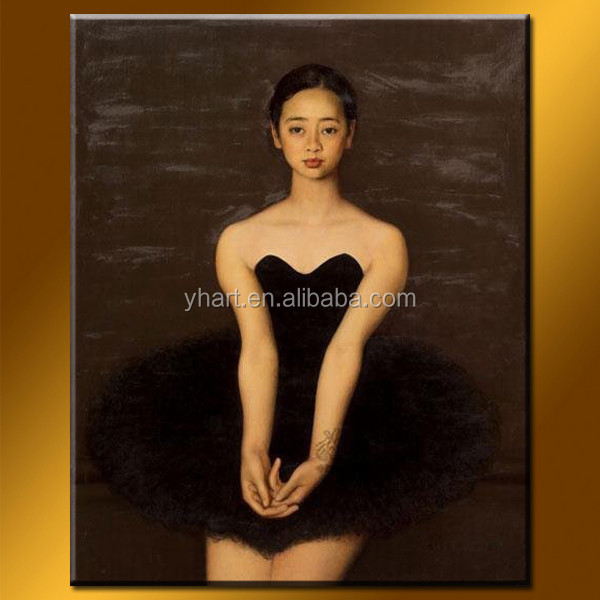 Wholesale Handmade Sex Picture Women Painting Of Ballet Dancer