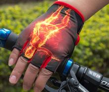 bicycle breathable gloves mittens heated cycling gloves