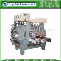 Automatic glass edge polishing machine