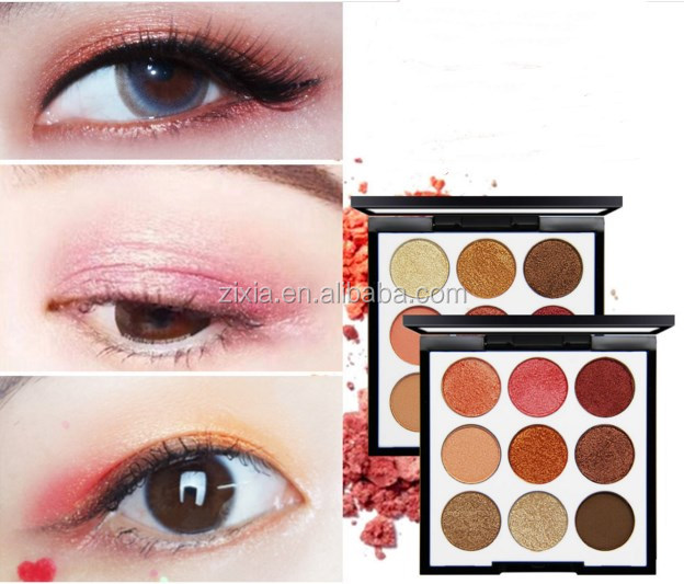 Princess Rhapsody 9 color eye shadow plate combination of pearl color bean paste color