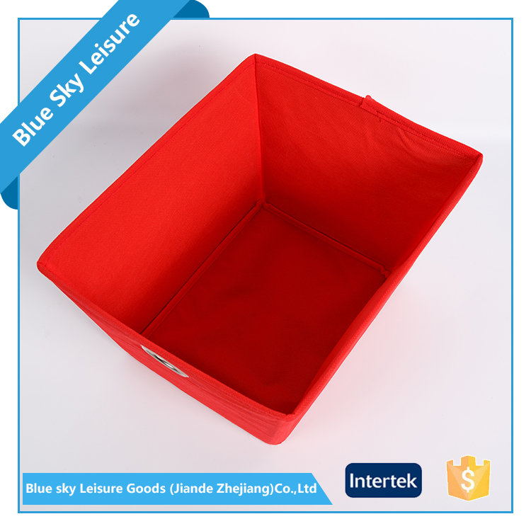Wholesale Products Home Interior Decoration Trapezoidal Non Woven Folding Storage Box