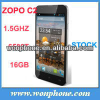 New arrival!!!ZOPO ZP C2 Platinum MTK6589T Quad Core Android 4.2 Mobile Smart Phone 5inc 1920x1080 IPS Smartphone 3G White Black