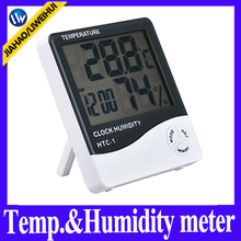 Liweihui maximum and minimum temperature logger and humidity tester gauge with 12 or 24 hour clock