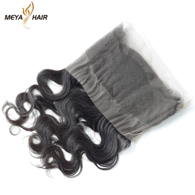 Make to order Peruvian 360 frontal lace closure body wave unprocessed hair in stock