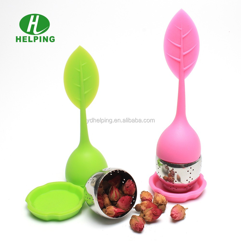 wholesale silicone tea infuser and stainless steel tea filter strainer,tea accessories