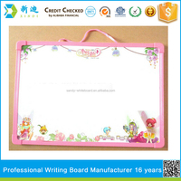 Lanxi xindi notice board decoration ,dry eraser magnetic white board