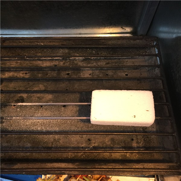 Foam glass cleaning block bbq grill cleaning brush grill block