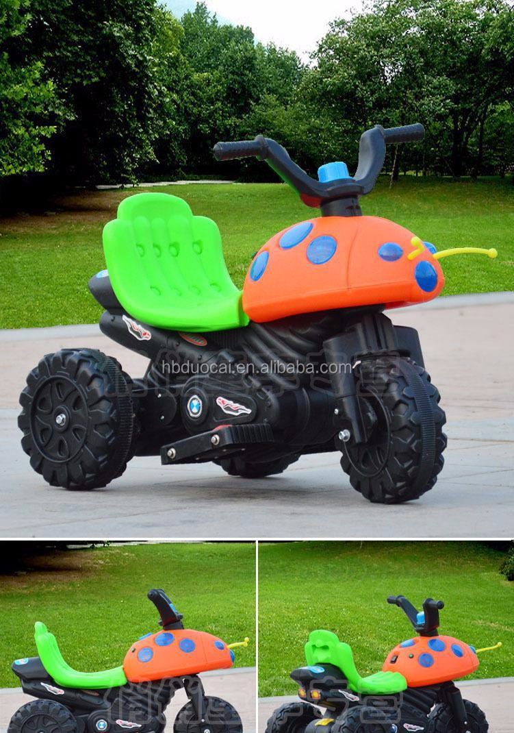 Chinese Hot selling Kid toy tricycle electric bike baby motorcycle